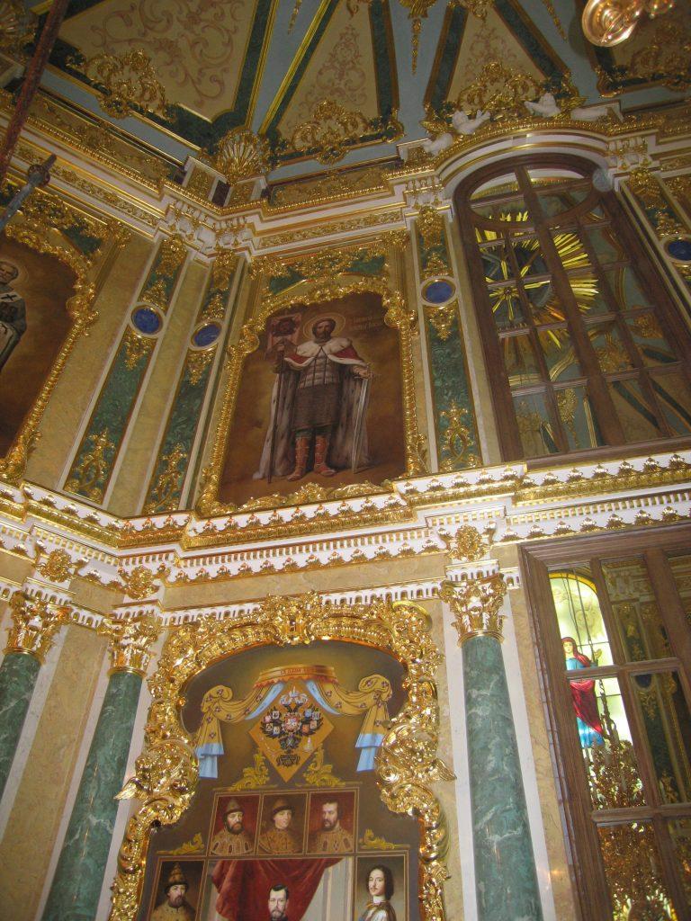 Интерьер Церкви в п. Вырица