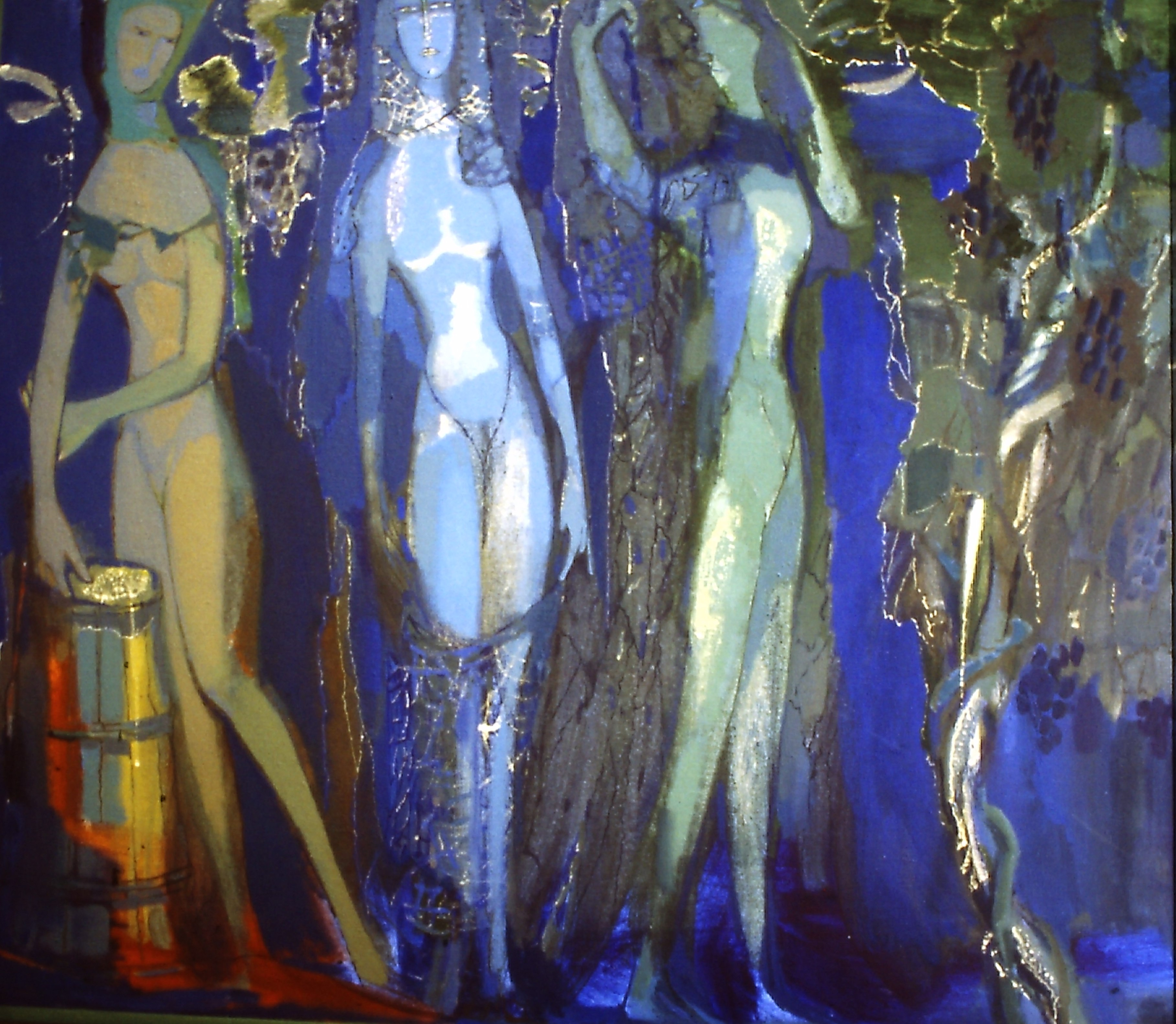 С.Пономаренко-Виноград- хм130х150,2006г