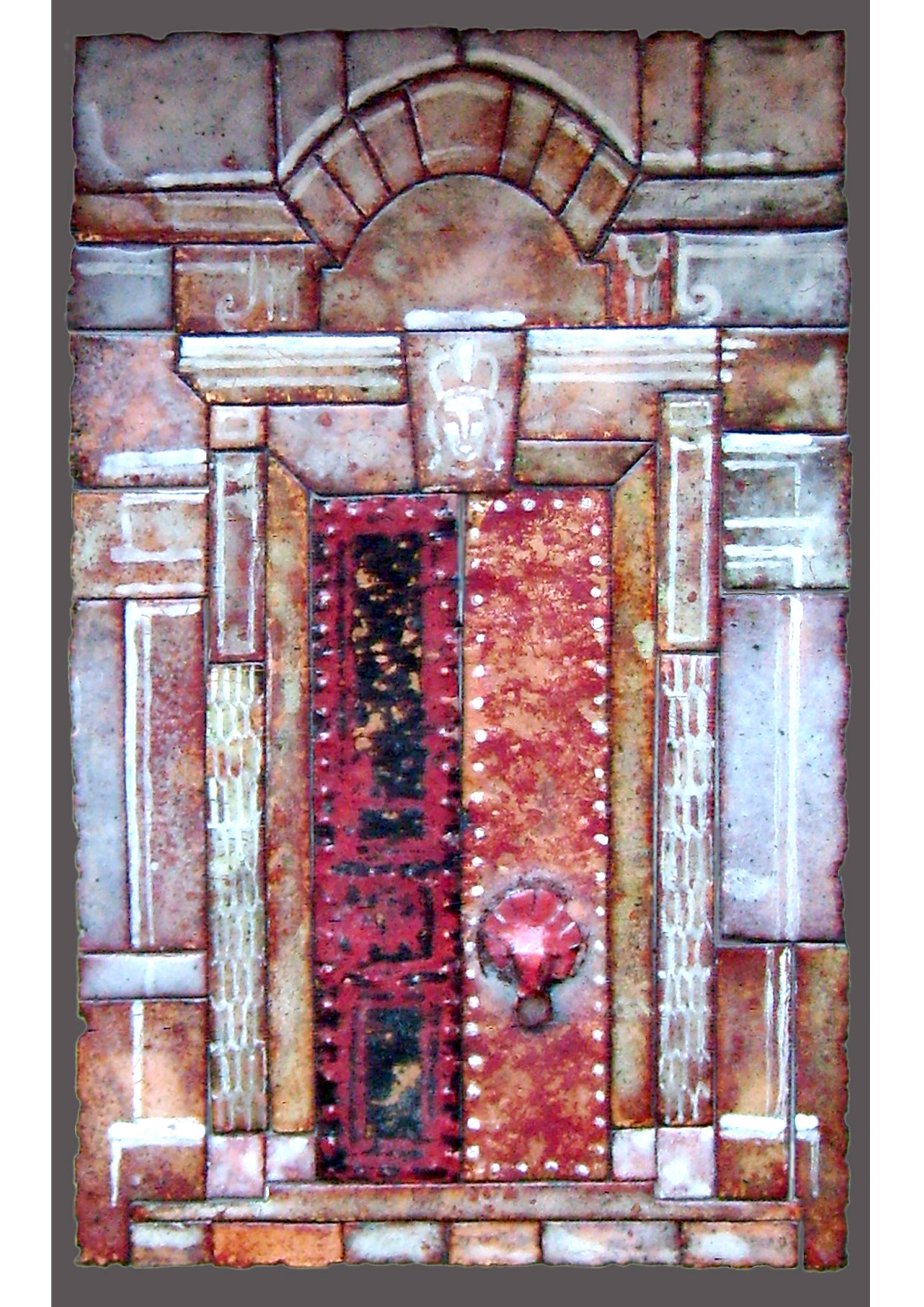 золотая дверь