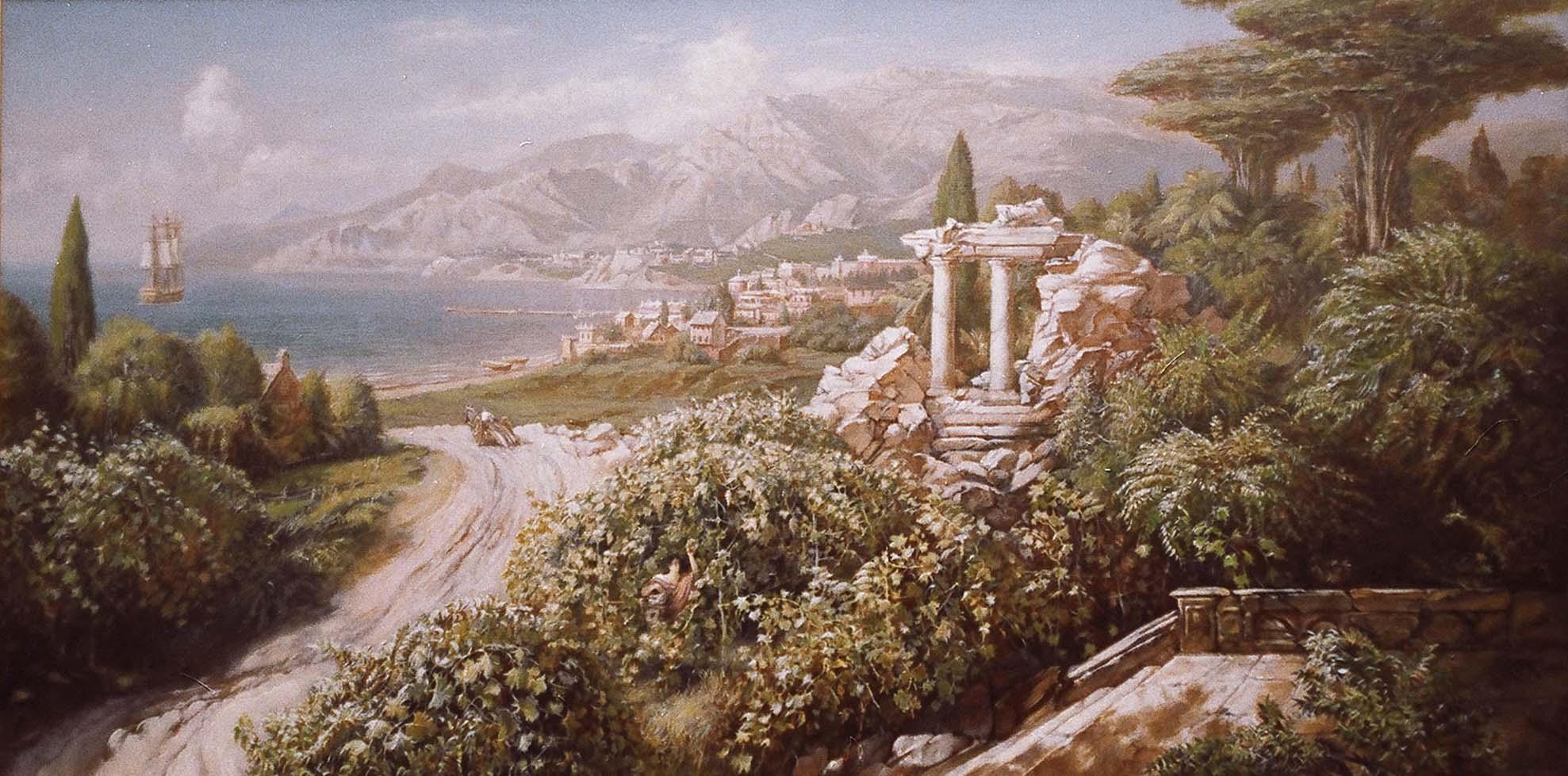 2 Итальянский пейзаж 1